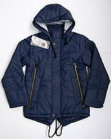 Куртка-парка на мальчика 5 - 10 лет весна-осень