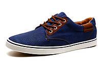 Мужские спортивные легкие туфли, джинс, синие, фото 1