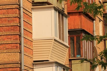варианты обшивки балкона от Тепловик