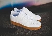 Кроссовки Nike Air Force White Gum - 1450