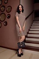 Женское деловое платье