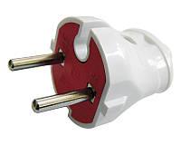 Разъем бытовой «вилка» 2P (без заземления) РП 8531, АСКО-УКРЕМ