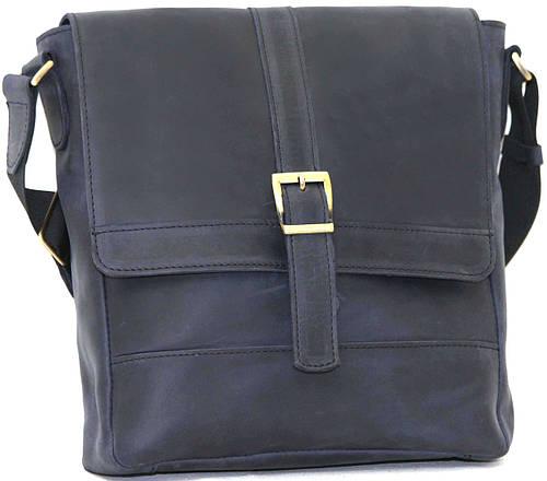 Мужская креативная сумка из высококачественной натуральной кожи VATTO Mk17Kr600, темно-синий