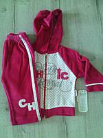 Спортивный костюм велюровый для девочки Турция