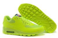 Женские кроссовки Nike Air Max  90 Hyperfuse салатовые 36,37р