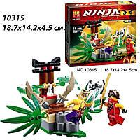 """Конструктор BELA """"Ninjago"""". 58 деталей! Ловушка в Джунглях!"""