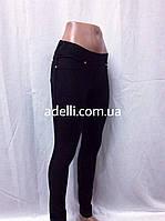 Классические брюки-лосины из натуральной ткани