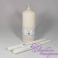 Набор свадебных свечей №30