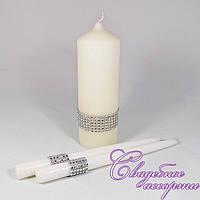 Набор свадебных свечей №3