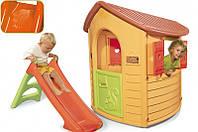 Детский домик c горкой Smoby 310151