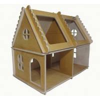 Игрушка Домик кукольный домик №2 не крашеный Д571у Руди