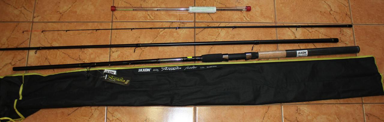 карповое удилище jaxon black arrow