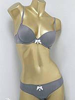 Комплект женского белья Lise Marie 2112, бюст пуш ап и трусики бразилианки