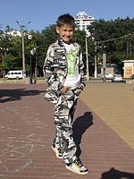 Костюм детский Кадет камуфляж Волк