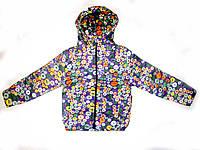 Демисезонная куртка для девочки 3-7лет