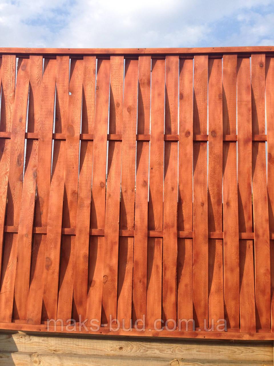 Как сделать плетёный забор из досок своими  953