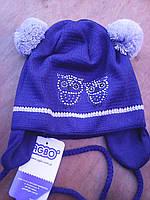 Польская шапочка для девочки совята