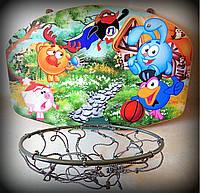 Баскетбольное кольцо детское Смешарики, для обычного мяча