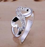 """Женское кольцо """"Бесконечность"""" в стиле Тиффани """"Tiffany"""""""