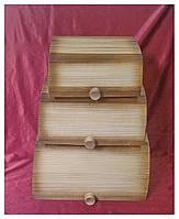 Хлебницы набор из 3х шт