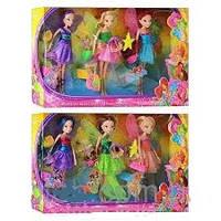 Куклы Винкс (Winx) в наборе с аксессуарами, WX 832 A6 WX