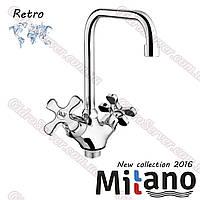 Смеситель для кухни Retro ML 30-60-90R двухвентельный.