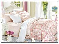 Arya Комплект постельного белья семейный сатин 3D Goulette pink