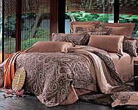 Arya Комплект постельного белья семейный сатин 3D Resa pudra
