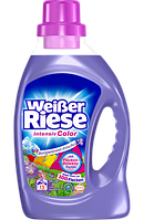 Weisser Riese Intensiv Color Gel Bergwiesen-Frische - жидкий стиральный порошок для цветного белья, 15 стирок