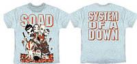 Рок-футболка System Of A Down (комикс)