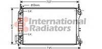 Радиатор Vectra C / SIGNUM AT + / -AC (Van Wezel) (производство VAN WEZEL ), код запчасти: 37002341