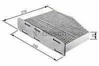 Повітряний фільтр салону 2064 volvo s60,s80,v70,xc90,sc70 98-10 (производство Bosch ), код запчасти: 1987432064