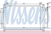 Конденсатор кондиционера Mazda (производство Nissens ), код запчасти: 940049