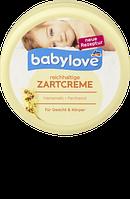 Детский крем для лица и тела Babylove reichhaltige Zartcreme mit Hamamelis+ Panthenol