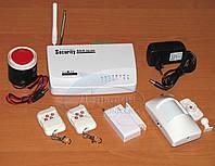 GSM сигнализация + беспроводные датчики. Русская инструкция