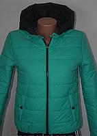 Куртка женская весенняя с принтом