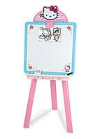 Детский двухсторонний магнитный мольберт Hello Kitty Smoby 28033