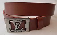 Кожаный мужской ремень Louis Vuitton
