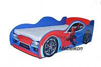 Кровать машина Человек Паук 170*80 см