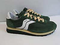 Кроссовки мужские Saucony 2937-28 Оригинал темно-зеленые код 0161А
