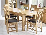 """Обеденный стол и 6 стульев """"Колорадо"""" из дуба"""