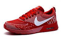 Кроссовки унисекс Nike Air Max, красный, р. 39, фото 1