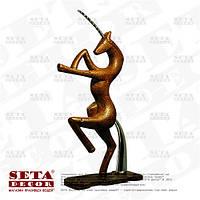 """Миниатюрная скульптура """"Единорог"""" каменная крошка (статуэтка, фигурка)."""
