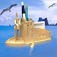 Подставка для ручек «Рыболов»