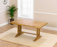 """Раскладной обеденный стол """"Мишель"""" из дуба без тонировки"""