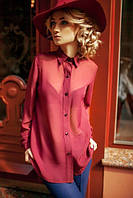 Летняя блузка из шифона