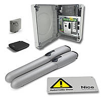 Комплект автоматики для распашных ворот NICE Wingo W KCE