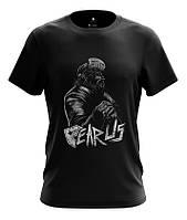 Мужская футболка, стильный принт Fear Us