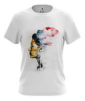 Стильная футболка мужская с принтом Modern