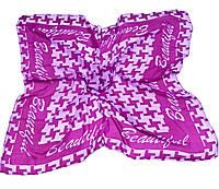 Платок легкий Бьюти   334-03 сиренево-розовый